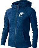 Джемпер Nike Gym Vintage Full-Zip синий